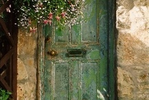 Home is where the heart is. / Doors, gates, garden paths, windows...