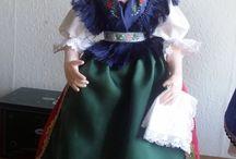 Folk Art dolls
