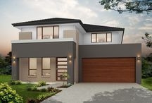 Our Double Storey Designs / We love to build contemporary homes for families living in Western Sydney. See our range of double storey house designs and floorplans.