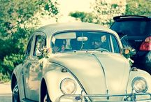 Wedding pre war car by Alina