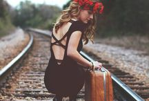 train track photoshoot