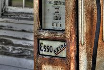 Old Petrol Pumps/Bowers