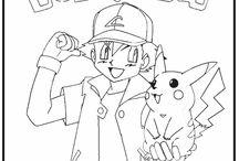 Värityskuvia Pokemon