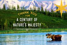 National Parks / We're celebrating the 100th anniversary of the National Parks Service!