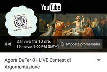 Instagram Stasera ci sarà la nuova edizione di Agorà DuFer e vi assicuro che ci aspetta una serata indimenticabile! :D  Alle 21 sul mio canale!
