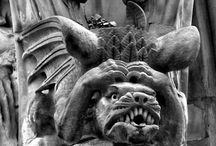 Gargoyles and Dragons - real ones not pretend