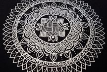 FOLK  ART RANGOLI