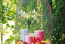 Vogelkäfig Deko
