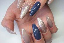 Glitter nails/ nail art