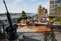 Luxury Homes | Roof Decks & Terraces / One of the desired amenities of a luxury home are roof decks! Here's our collection of our favorites!