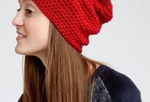 Basic crochet slouchy hat / Previsnuté (vrecové) háčkované čiapky