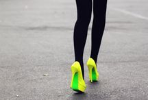 Neon Brights / by In My Closet