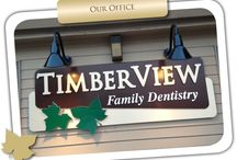 TimberView Family Dentistry / Welcome to my office! This is my team, my location, and my smile creations! Check us out and see how we can help you into a better smile! http://www.tvfdentistry.com/index.html