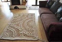 Dywaniki / Szydełkowane dywaniki