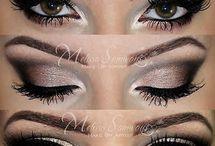 maquillaje y algo de cabello con estilo / maquillaje en ojos, labios y más para verse desde femeninas y naturales hasta sensuales según la ocasión y algo de estilo en el cabello femenino.