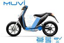 MUVI / Esencial. Dinámico. Práctico, y muy divertido. Así será tu nuevo scooter eléctrico.  Nuestro cicloscooter de última generación Muvi te enamorará si o sí, porqué es el primer scooter eléctrico lightweight diseñado para moverte de aquí a allá sin complicaciones