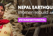 One Year Later: Women Rebuild Nepal / Explore powerful stories and photographs from this year of women-led relief, recovery, and rehabilitation. Meet resilient women survivors of the earthquake. Hear the voices of bold women leaders. Learn how women's groups are working to rebuild Nepal with more than $700,000 raised from Global Fund for Women's generous donors.