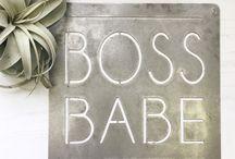 Boss babe popup shop