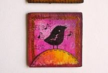Inchies & Twinchies / 1x1 and 2x2 inch art