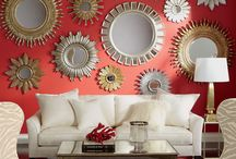 Decorating with Mirrors / Designing walls etc with mirrors