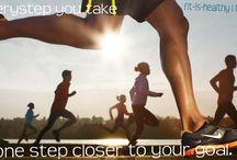 Being Healthy! / by Krystle Caricaburu