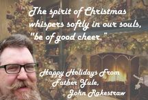 Father Yule loves to meet and talk with Santa believers / Father Yule, John Rakestraw, loves to meet and talk with Santa believers of all ages. Here's some brilliant ways to have a fun, joyful, and memorable Holiday Season… or a birthday anytime of the year, maybe a surprise visit from Santa for a job well done.