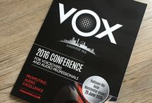 VOX voiceovers conference