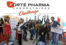 FORTE PHARMA CHALLENGE / For its third participation in the health, beauty and fitness fair, In Shape, Forté Pharma once again turned to us for the animation of its stand, and activation of its campaign. This time around, we upped the fitness component, by enhancing the physical challenges, and made it all worthwhile to participants, by giving away Forté Pharma goodies, and vouchers for either PT or SPA sessions.