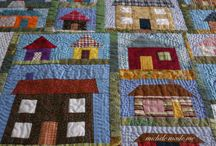 Quilt Themes: Houses, Barns, Neighborhoods / by Sandi Wiseheart