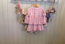 Children's clothing, Girls range from 12 months to 2 years old. / Girls clothing range available at bobelles, ranging from 12 months to 2 years old.