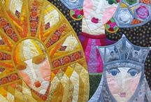 Quilts - faces, people / by Cindy Peterson