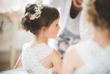 Wedding dresses, Bridesmaids dresses, Flower Girls dresses