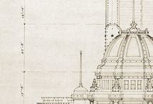 Vintage Architectural Drawings & Details