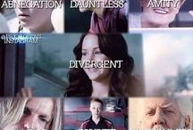 divergant and hunger games