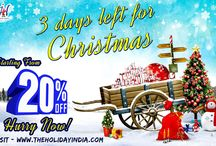 Christmas Discount Offer With Holiday India / Holiday India started its operation as a complete Conference and Event Management company. Today, it is one of the fastest growing and up-coming tour companies for inbound travelers to India.