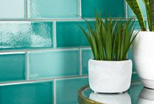 The Teal Appeal / A collection of colourful home ideas featuring this year's must-have colour; teal! A gorgeous aquatic mix that sits somewhere between blue and green, it's perfect for refreshing a bathroom or kitchen.