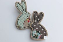 Easter Sewing Ideas / Get ready for spring with these adorable projects