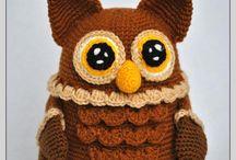 Hiboux En Crochet