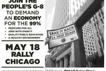 People's G-8 Rally To Demand An Economy for the 99%