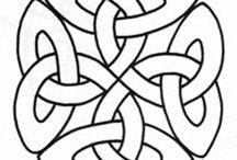 celtic quilt ideas / by Francesca Kropp