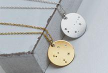 Biżuteria - konstelacje zodiakalne / Zodiac constellations jewelry / Nasz los zapisany jest w gwiazdach? Całkiem możliwe. Dlatego stworzyliśmy kolekcję z konstelacjami gwiezdnymi, które odpowiadają znakom zodiaku. Wybierz swój unikatowy znak zodiaku.