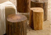 Tree stump ideas