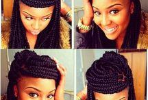 Hair / Box braids