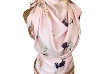 DOG SILK SCARVES - Wearable Watercolor Art for Dog Lovers / Original watercolor dogs, hand-painted artwork, transferred to premium silk twill.  Beautifully finished edge with a hand-rolled hem for the perfect accessory to your fashion statement. Wear this silk scarf at your waist, around your neck, over your shoulders or even as a stylish blouse with open back.