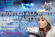 Frosted all White / A winter themed event held in PMB 20/07/2013