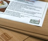 KokenOpHout / Het cederhout geeft na gebruik in de oven, bbq of rookoven een extra smaak aan het gerecht wat opgediend wordt op de CedarWood OvenPlank, BbqPlank, OvenVellen of gerookt wordt met RookMot of RookHout