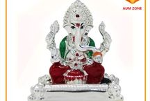 Ganesh murtis / Ganesh murtis designed beautifully by artisans and sold at Aumzone online marketplace and religious store.