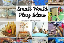 Vocab - small world play