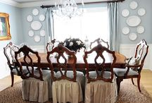 Dining Room Ideas / by Carrie @curlycraftymom.com