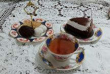 Teatime / Tea and sweets